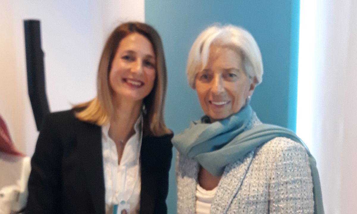 Tamara Perko i Christine Lagarde