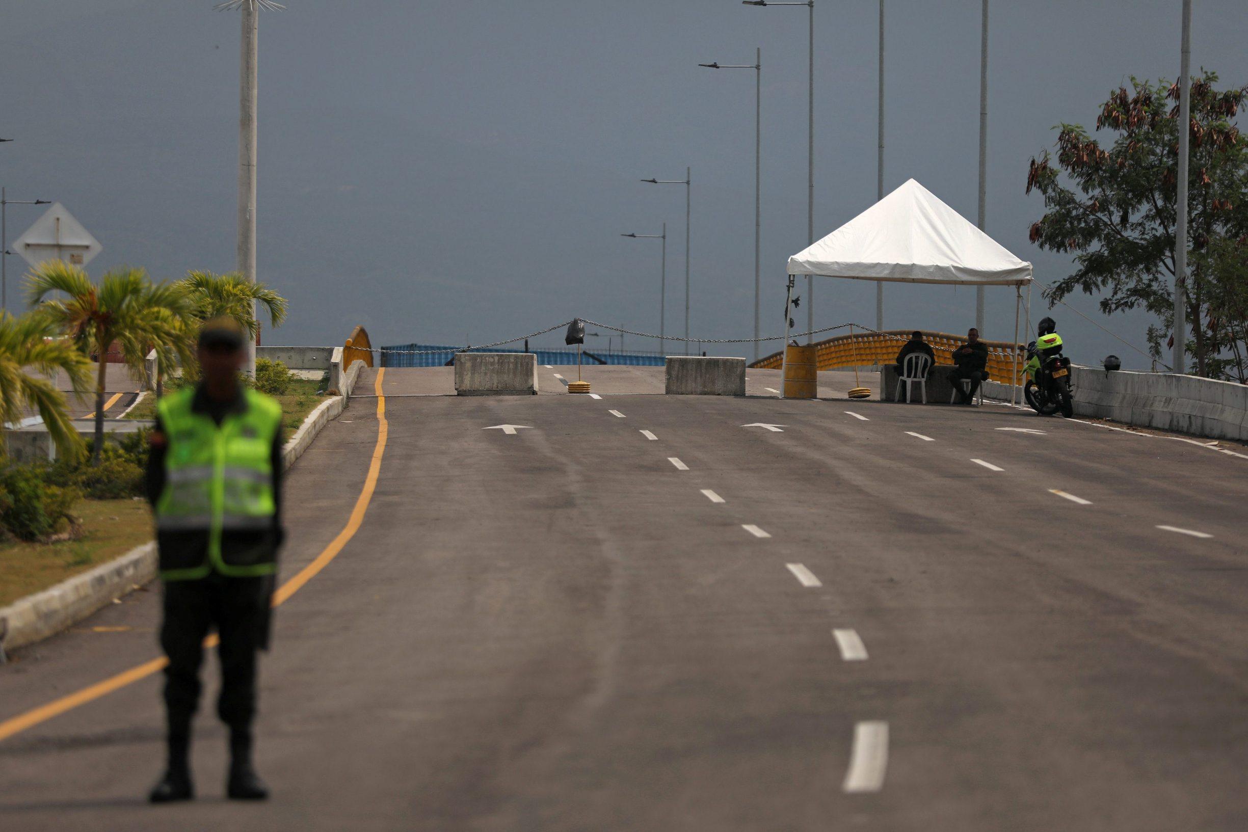 Ilustracija: granica između Kolumbije i Venezuele