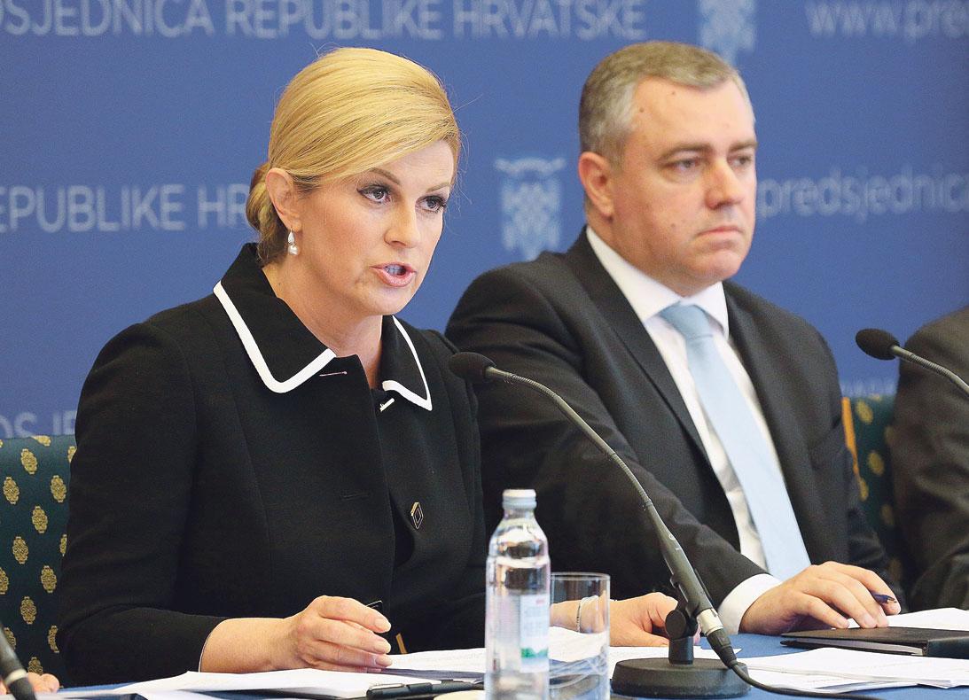 Kolinda Grabar Kitarović i Mate Radeljić