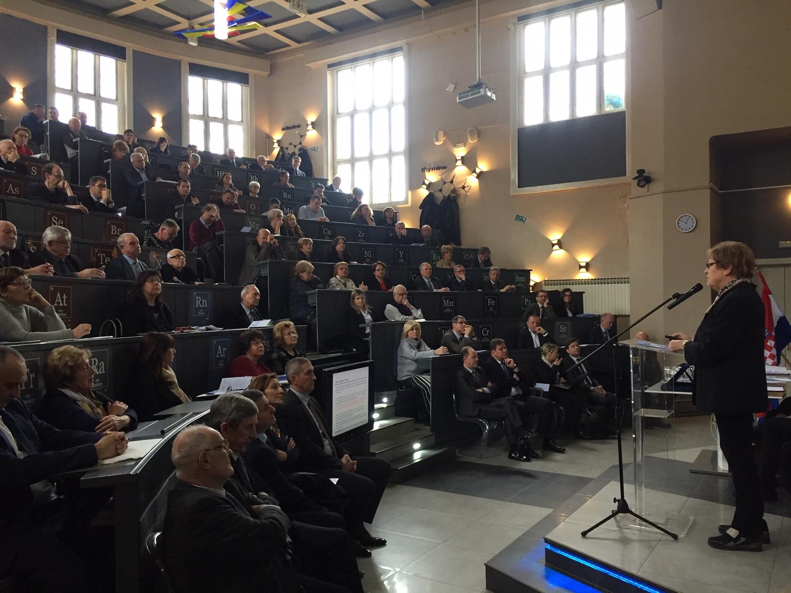 Dan inženjera Hrvatske održan je u organizaciji Hrvatskog inženjerskog saveza (HIS) i Akademije tehničkih znanosti Hrvatske (HATZ) kao suorganizatora, a domaćin je bio Fakultet kemijskog inženjerstva i tehnologije