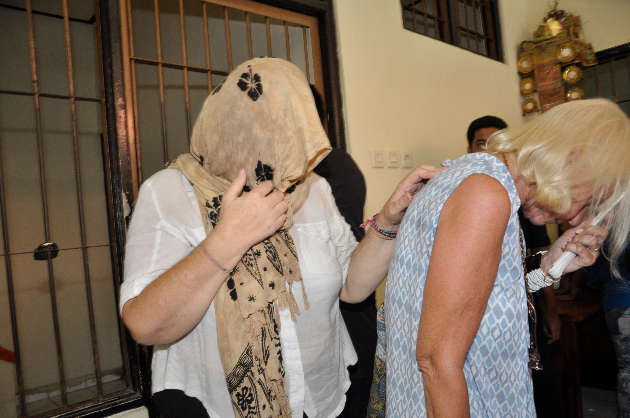 BALI, INDONESIA - JANUARY 22: Lindsay Sandiford, 56, leaves her cell to attend court from drug trafficking on January 22, 2013 in Bali, Indonesia., Image: 152039115, License: Rights-managed, Restrictions: , Model Release: no, Credit line: Profimedia, Barcroft Media