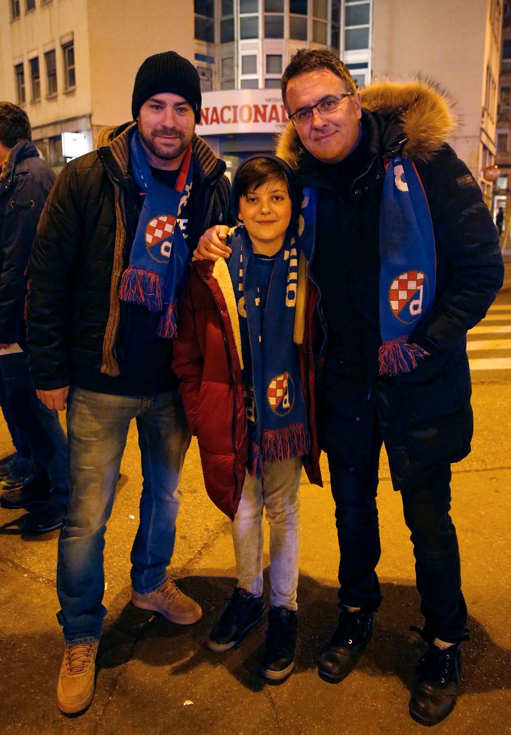 Tarik Filipović sa sinom Armanom