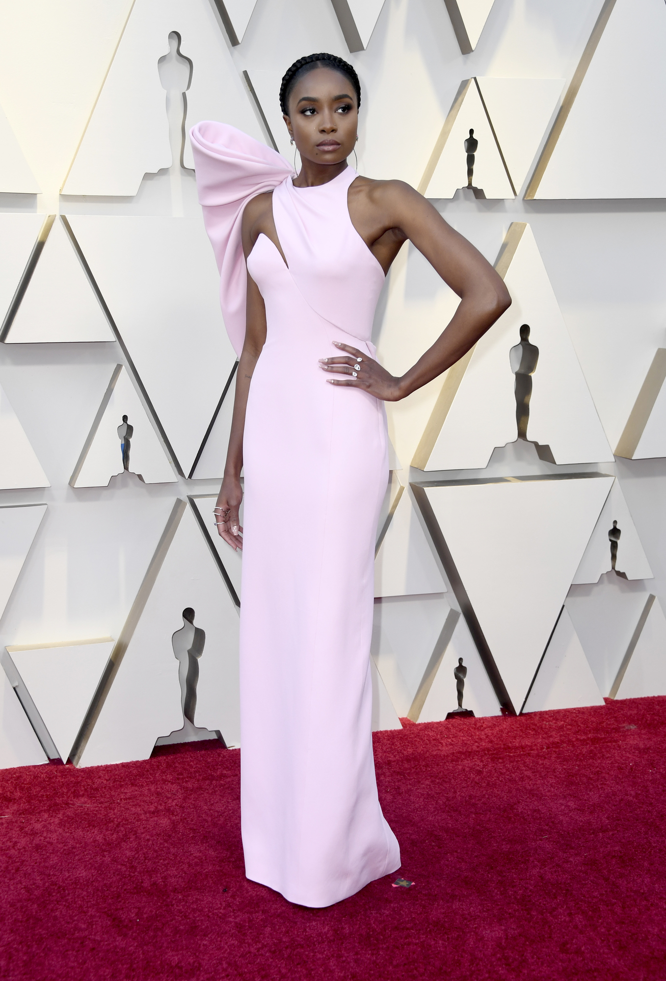 HOLLYWOOD, CALIFORNIA - FEBRUARY 24: KiKi Layne attends the 91st Annual Academy Awards at Hollywood and Highland on February 24, 2019 in Hollywood, California. (Photo by Frazer Harrison/Getty Images)
