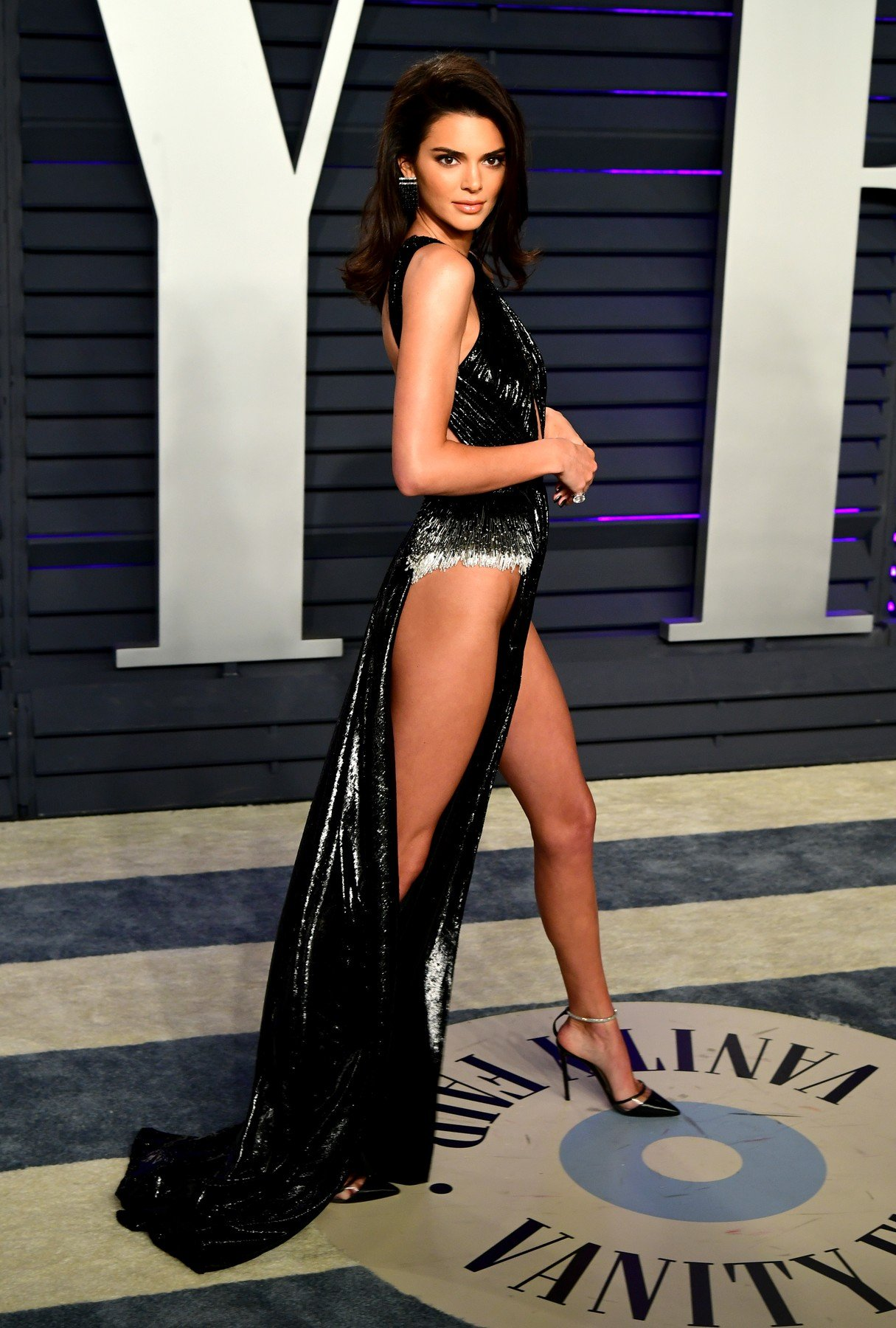 Kendall Jenner attending the Vanity Fair Oscar Party held at the Wallis Annenberg Center for the Performing Arts in Beverly Hills, Los Angeles, California, USA., Image: 415781900, License: Rights-managed, Restrictions: , Model Release: no, Credit line: Profimedia, Press Association
