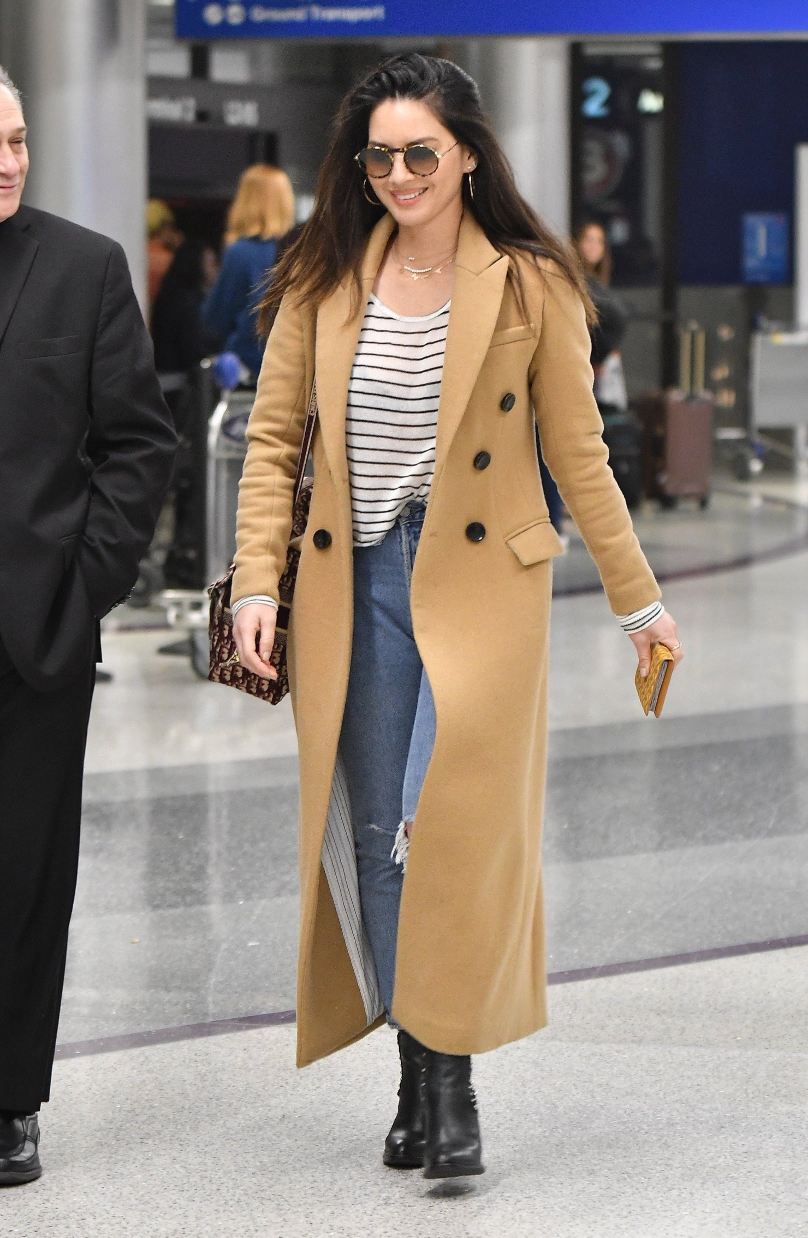 Olivia Munn leaving LAX airport. 26 Feb 2019, Image: 415990196, License: Rights-managed, Restrictions: World Rights, Model Release: no, Credit line: Profimedia, Mega Agency