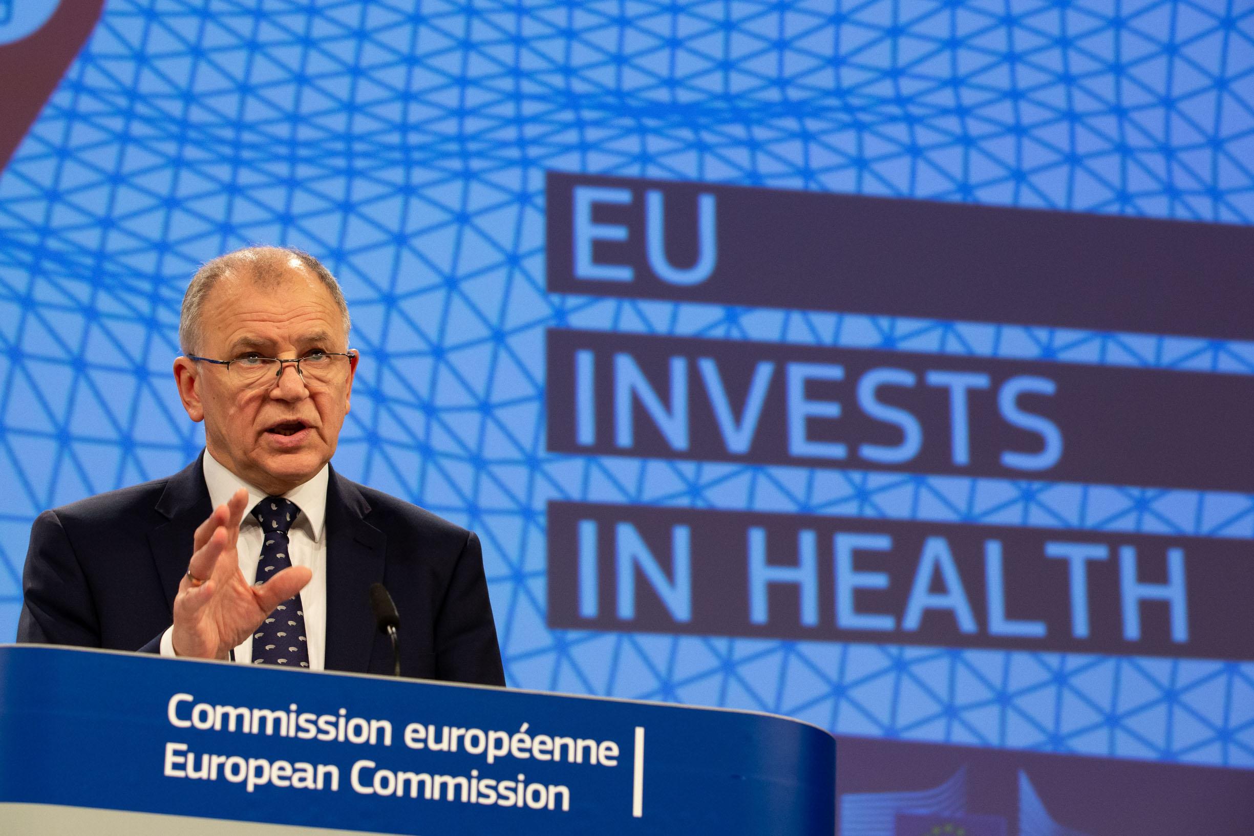 Vytenis Andriukaitis europski je povjerenik za zdravlje i sigurnost hrane