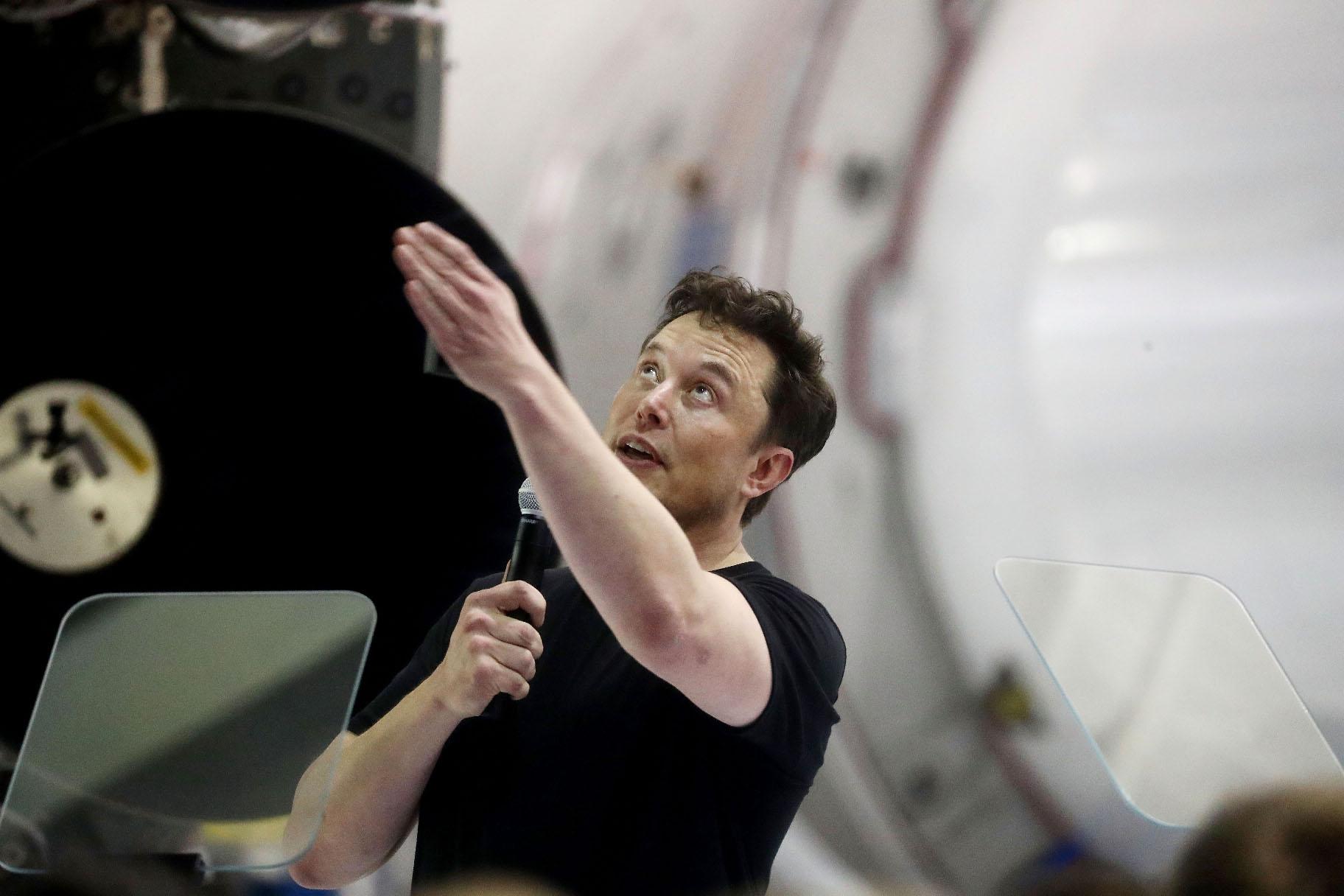 Elon Musk, direktor kompanije SpaceX