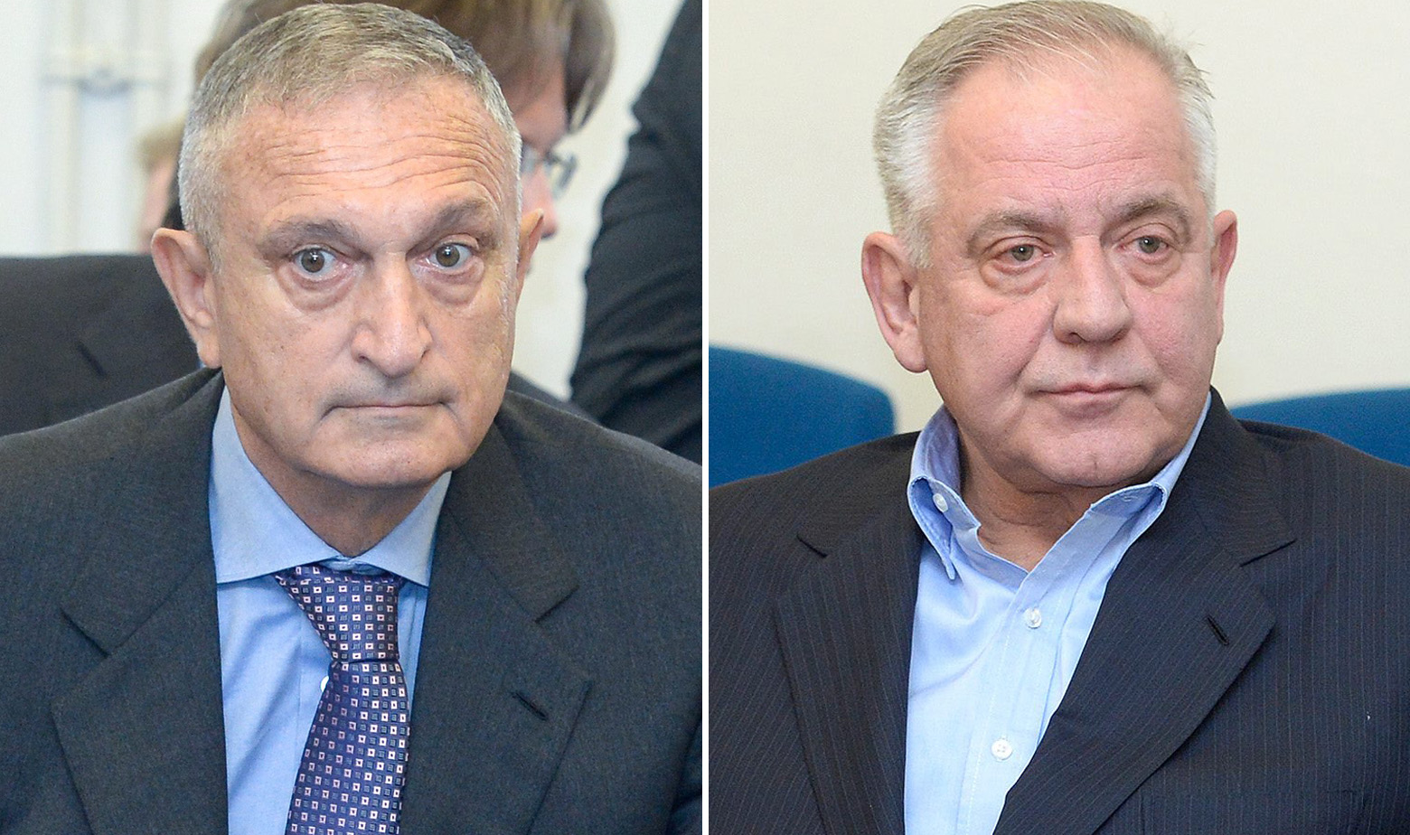 Robert Ježić i Ivo Sanader