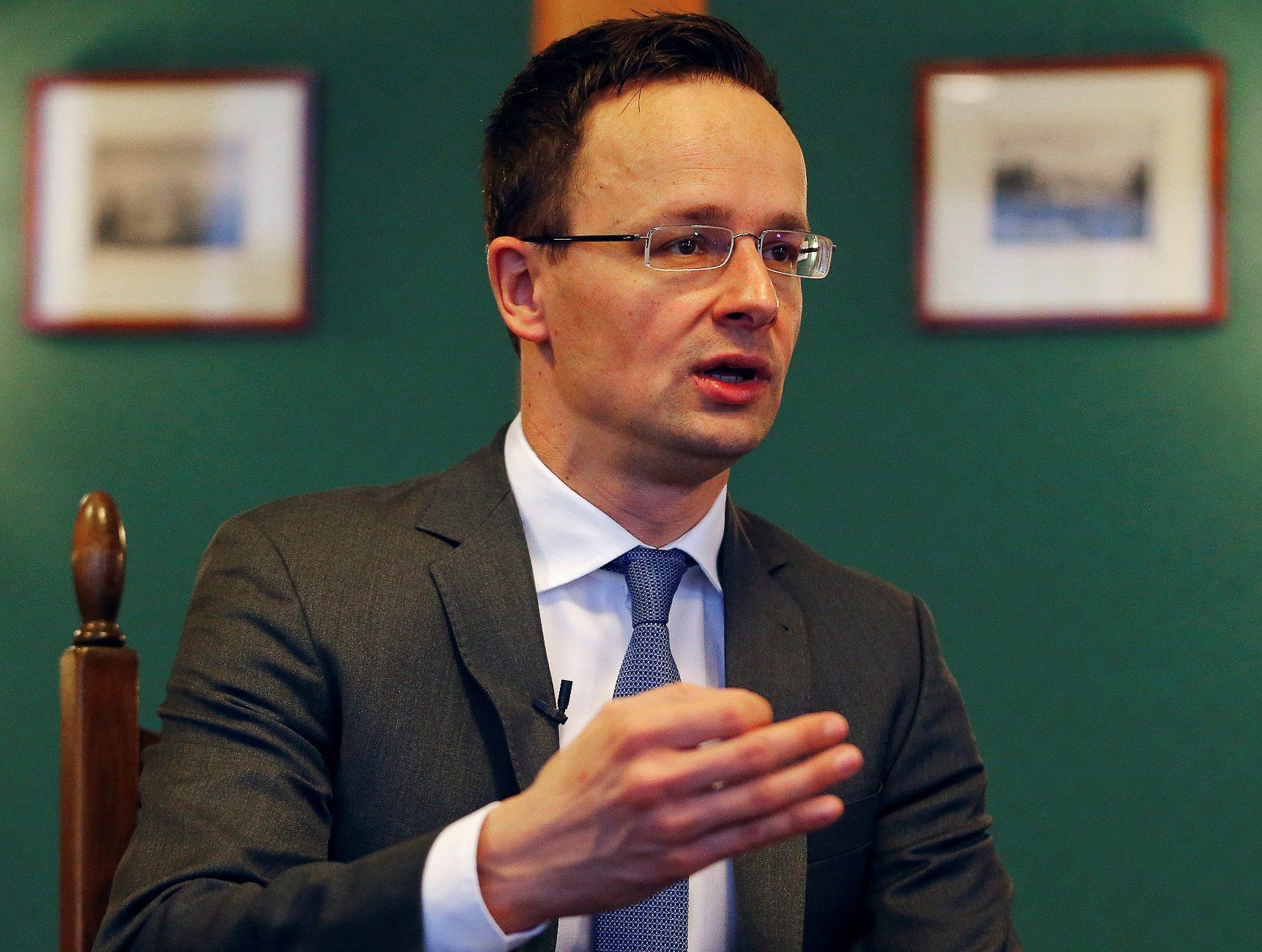 Mađarski ministar vanjskih poslova Peter Szijjarto