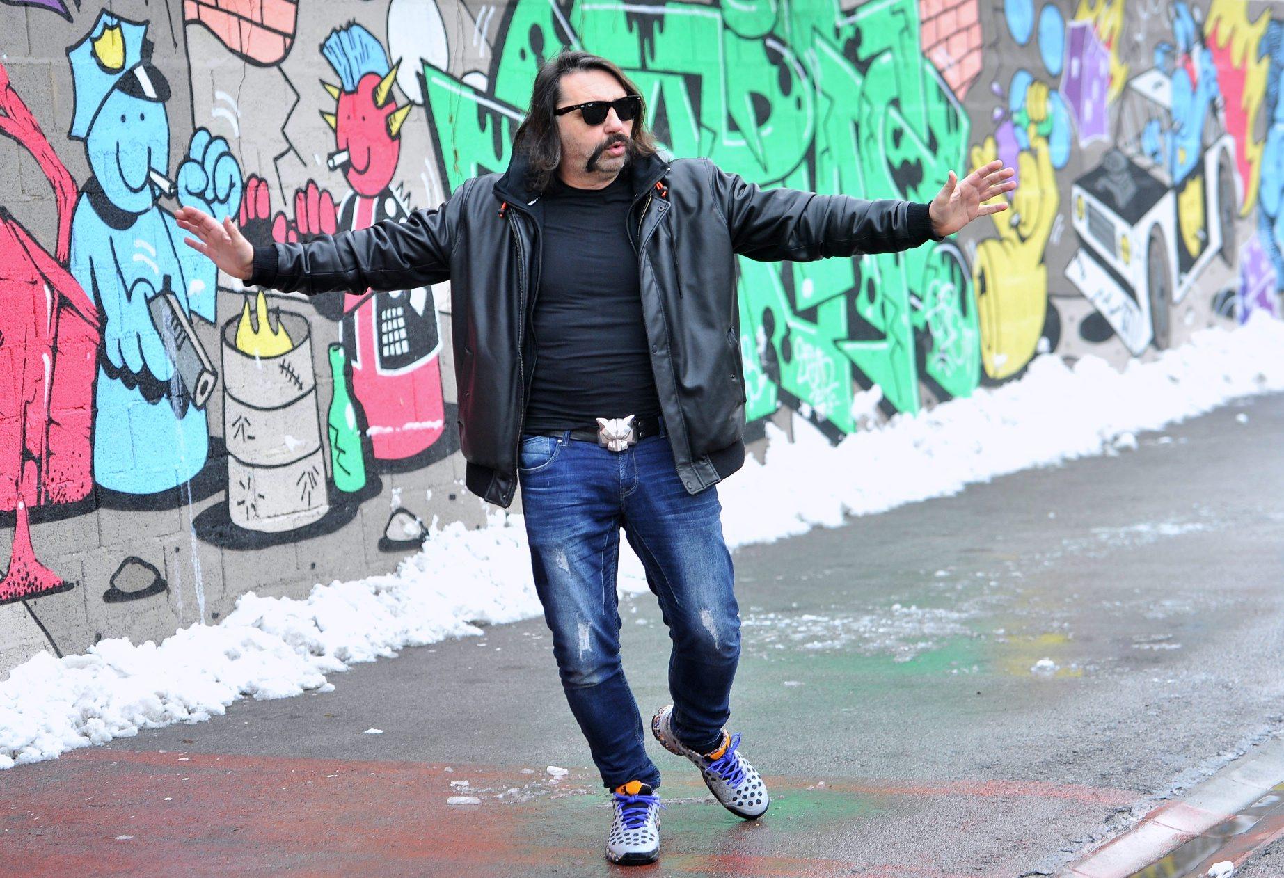 Damir Martinovic Mrle, frontmen grupe Let3.