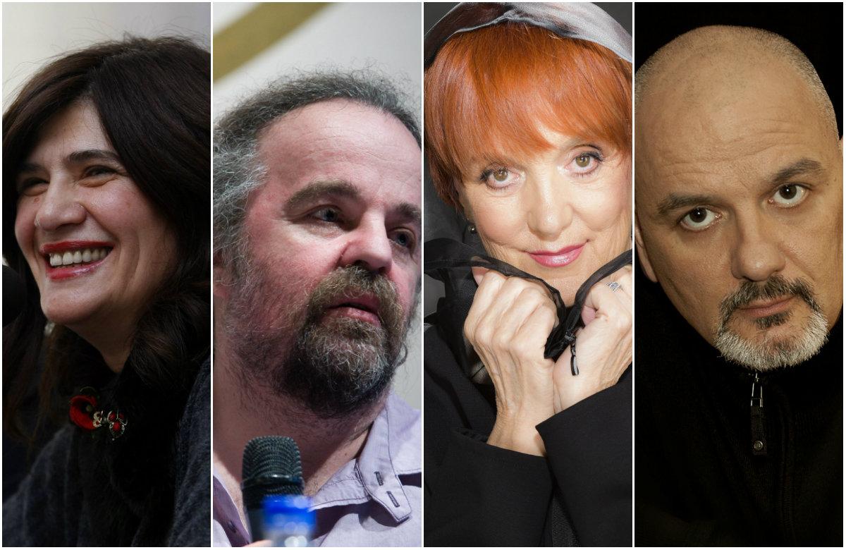 Julijana Matanović, Miljenko Jergović, Vedrana Rudan, Zoran Žmirić