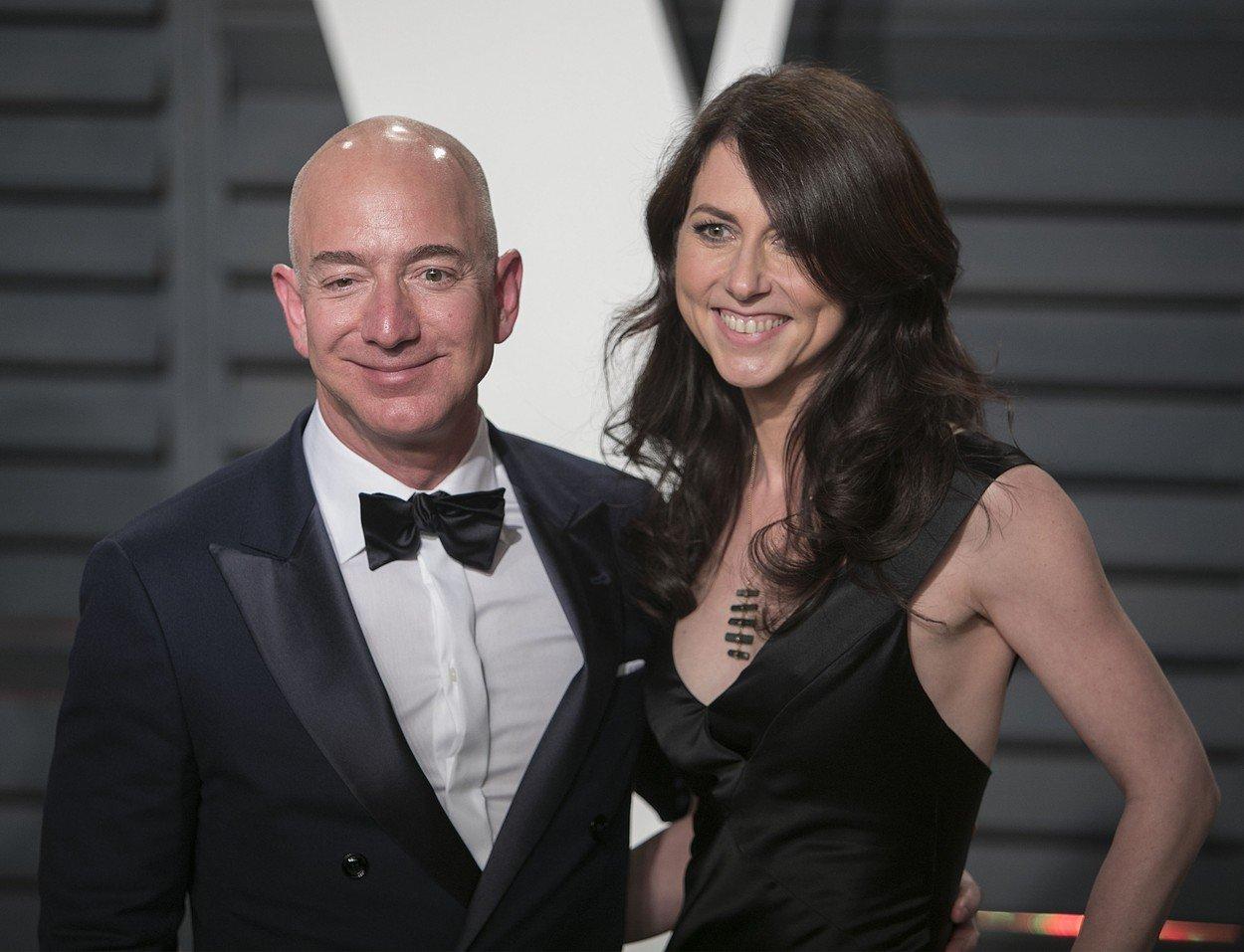 Jeff Bezos i bivša supruga MacKenzie Bezos