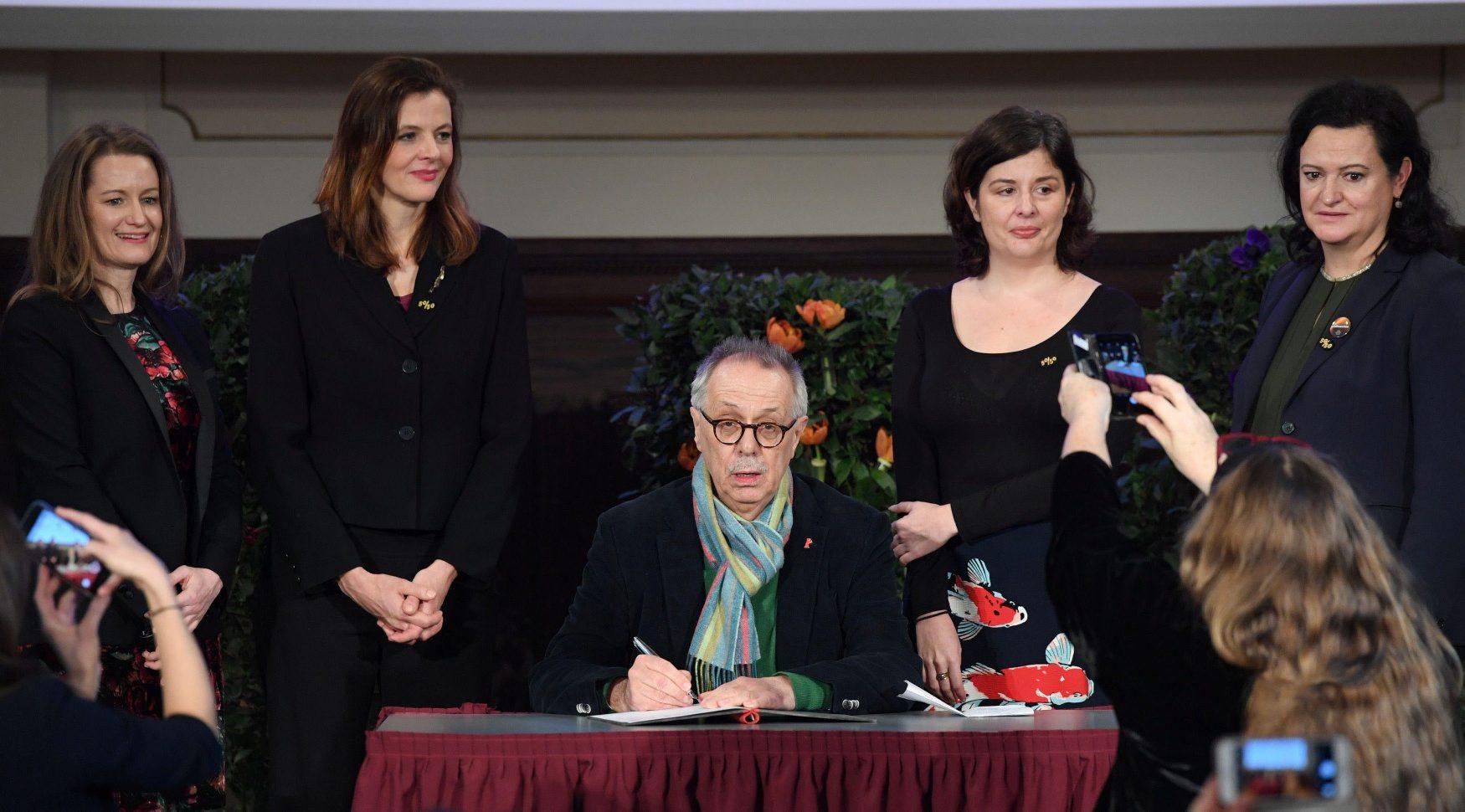 Šef festivala Dieter Kosslick pismeno se obvezao da će promicati više žena u filmskoj industriji