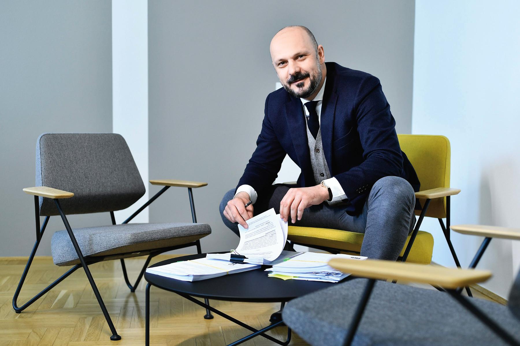Oliver Kumrić, predsjednik Uprave Instituta IGH