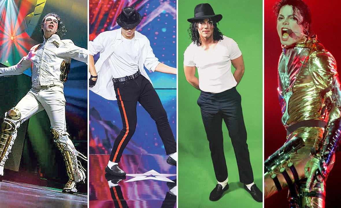 Miguel Concha, Marčelo Selim, Boris Morović i Michael Jackson