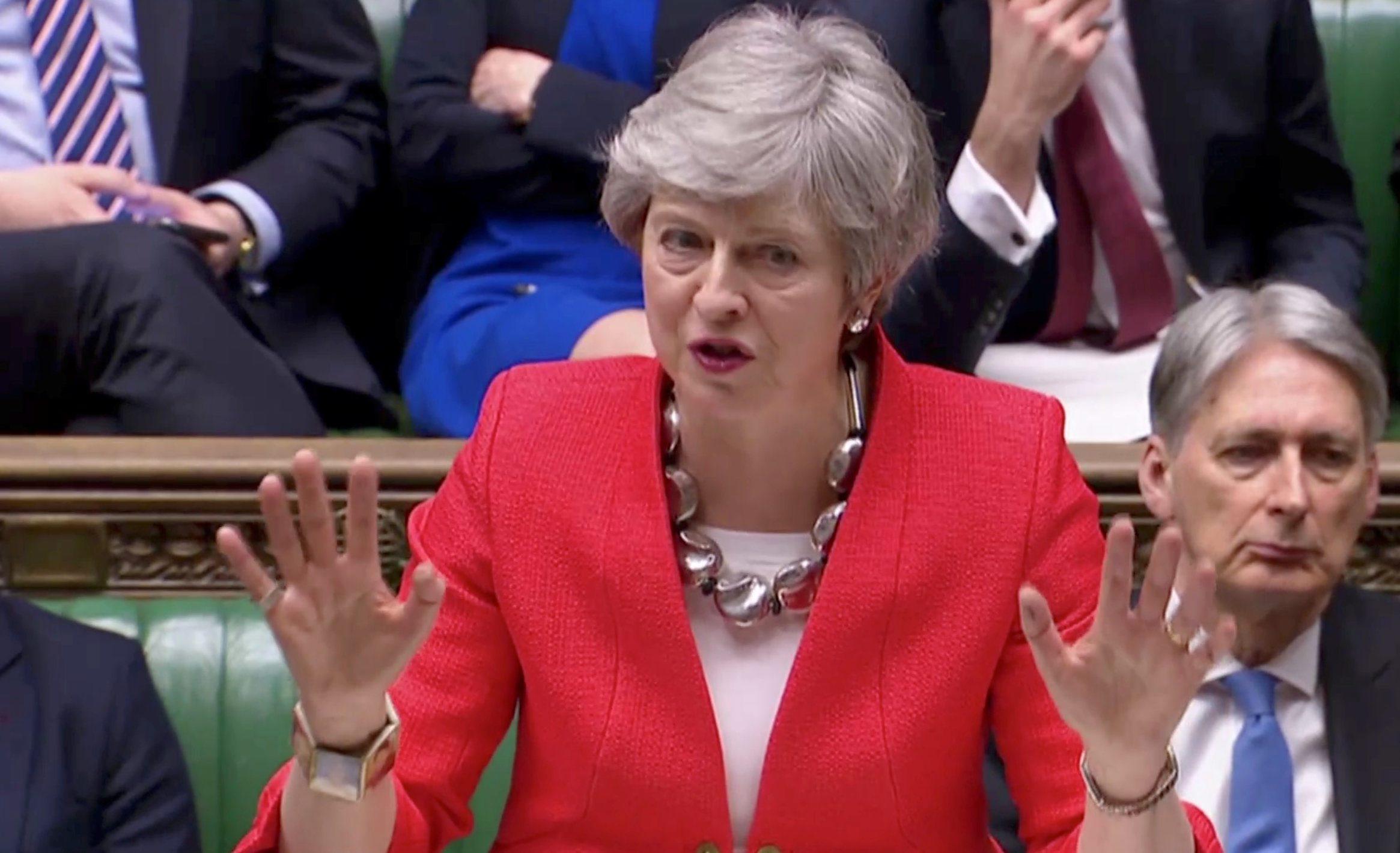 Britanska premijerka Theresa May
