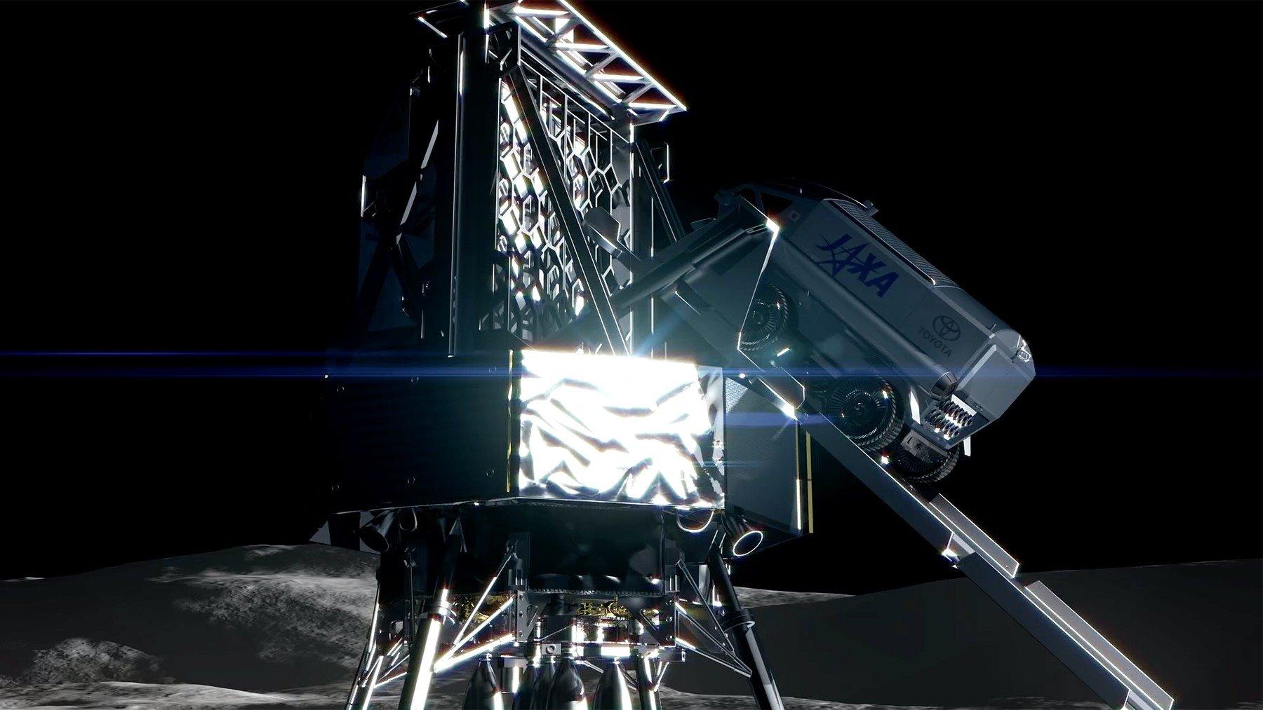Toyotin rover za istraživanje Mjseca