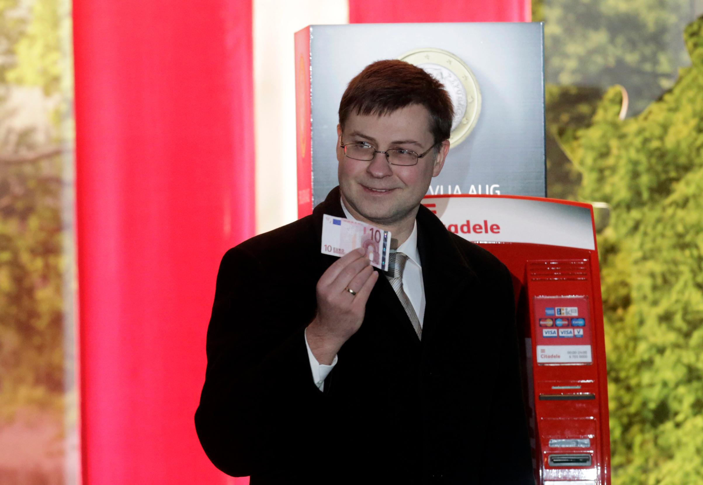 Povjerenik Komisije za euro i financijsku stabilnost Valdis Dombrovskis