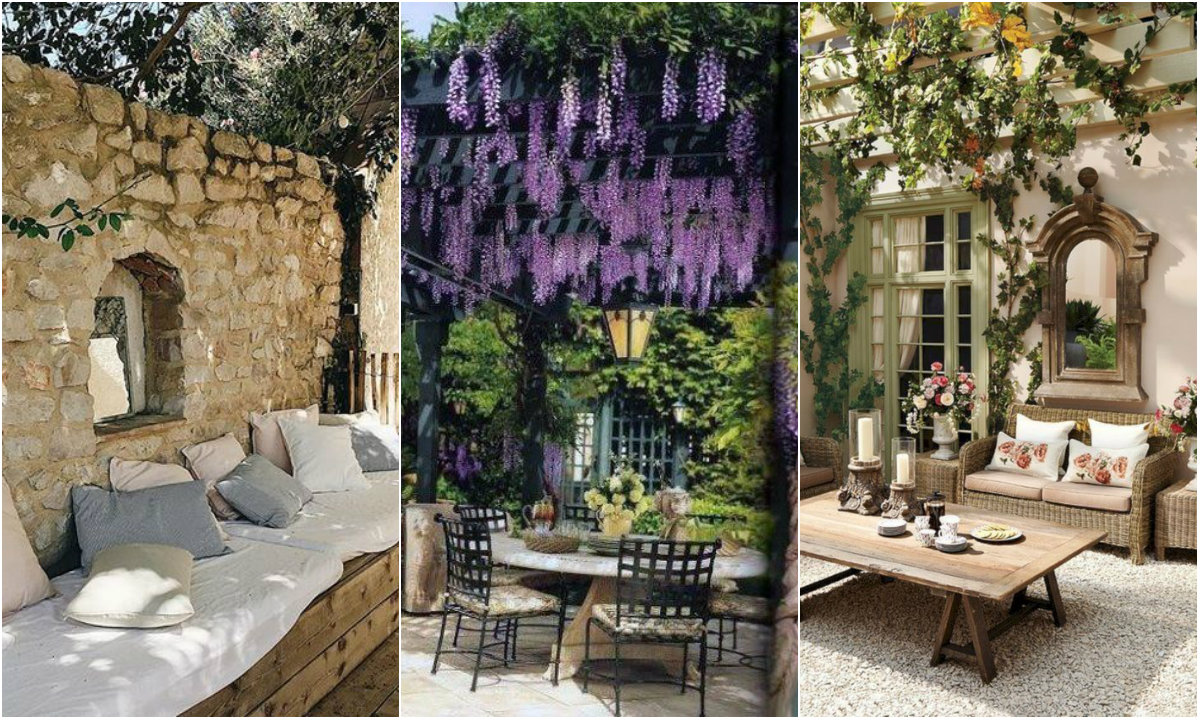 Španjolski vrt collage