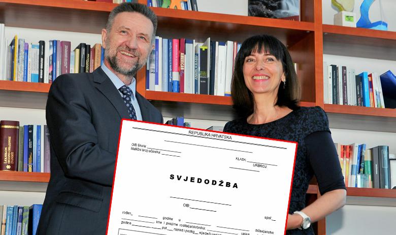 Pavo Barišić i Blaženka Divjak