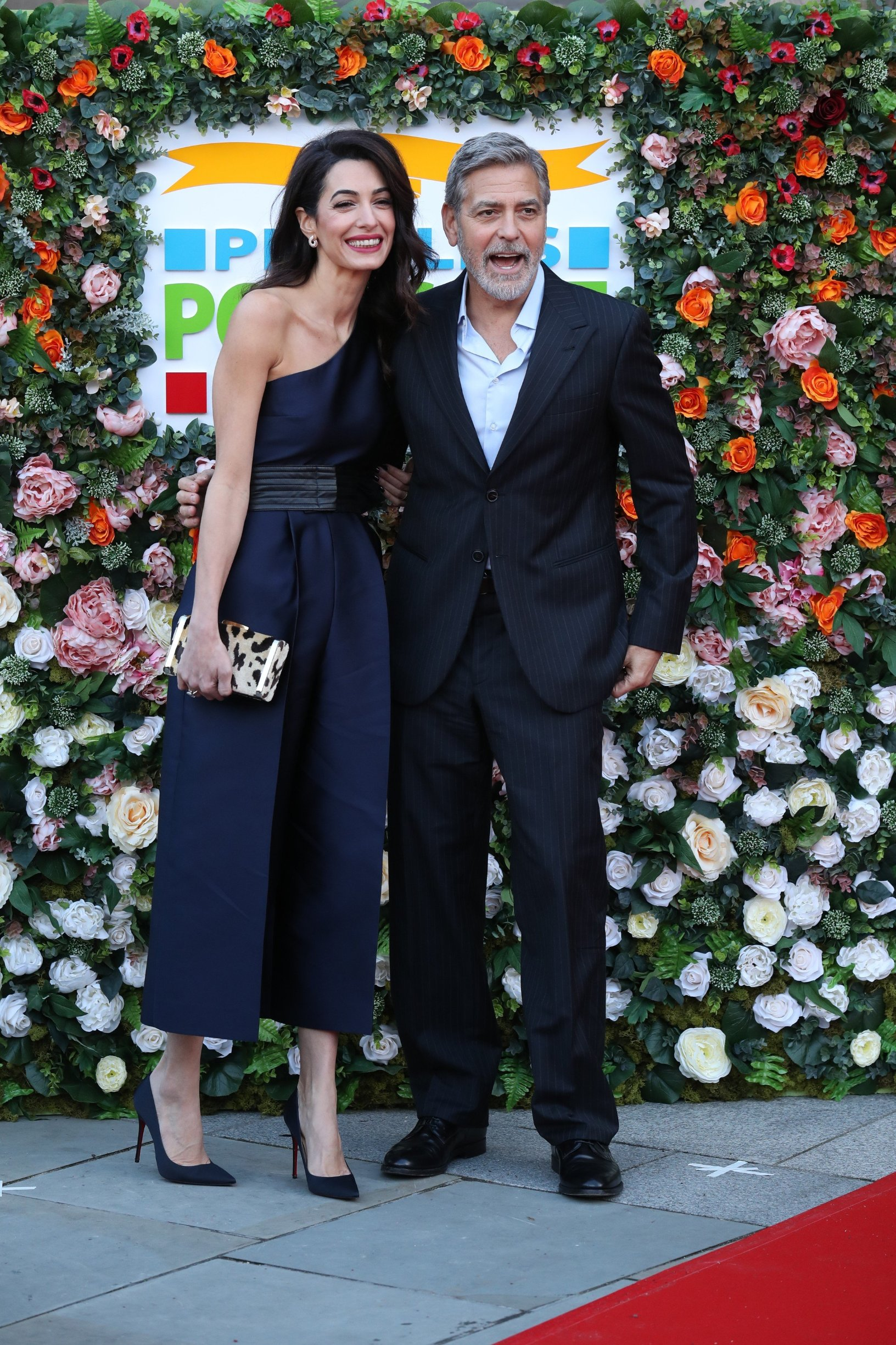 George and Amal Clooney, representing the Clooney Foundation for Justice, arrive at the People's Postcode Lottery charity gala at the McEwan Hall in Edinburgh., Image: 419447955, License: Rights-managed, Restrictions: , Model Release: no, Credit line: Profimedia, Press Association