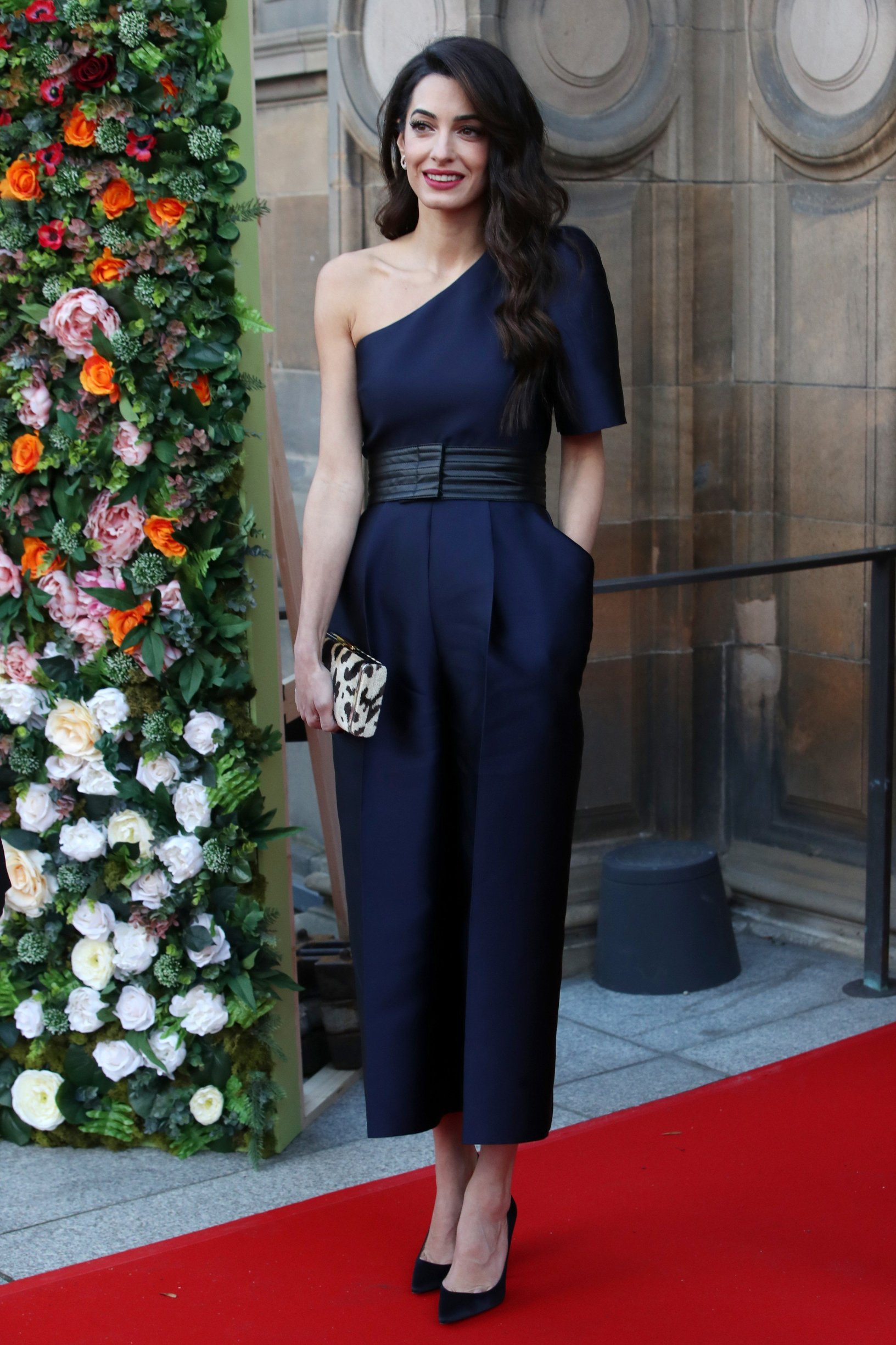 Amal Clooney People's Postcode Lottery photocall, Edinburgh, Scotland, UK - 14 Mar 2019, Image: 419456253, License: Rights-managed, Restrictions: , Model Release: no, Credit line: Profimedia, TEMP Rex Features