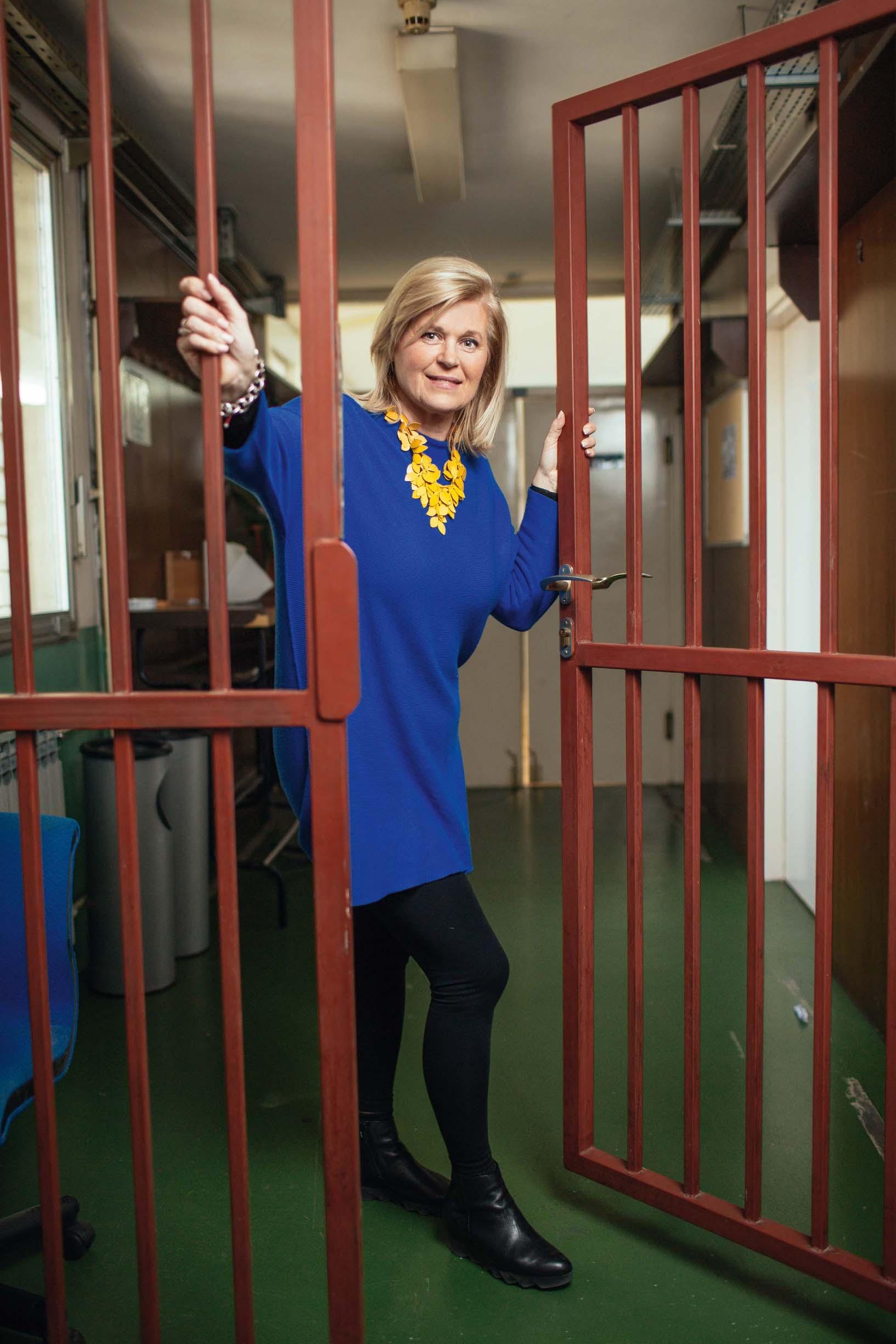Alis Marić, jedina osoba koja s entuzijazmom ulazi u zatvorsku ustanovu