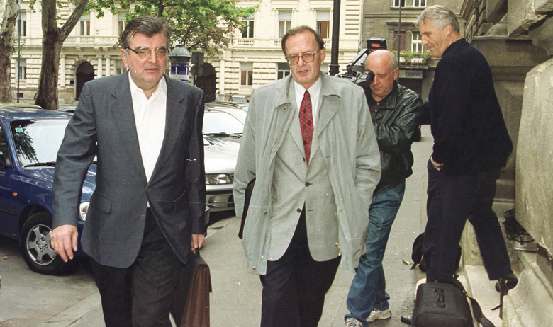 Marin Črnja (lijevo)