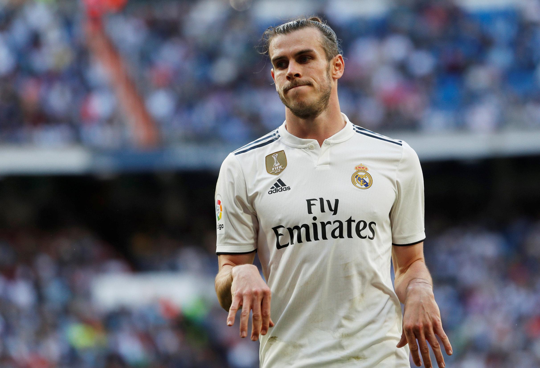 Soccer Football - La Liga Santander - Real Madrid v Celta Vigo - Santiago Bernabeu, Madrid, Spain - March 16, 2019  Real Madrid's Gareth Bale reacts  REUTERS/Susana Vera