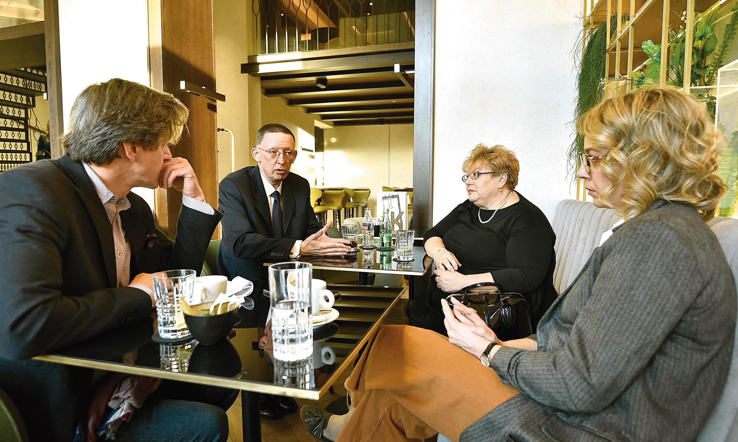 Boris Vlašić, Marin Mrčela, Višnja Drenški-Lasan i Ivana Bodrožić