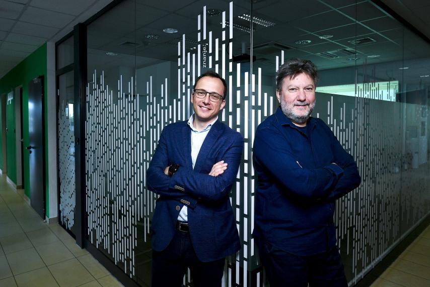 CEO Mario Hegeduš i osnivač tvrtke Borivoj Sirovica