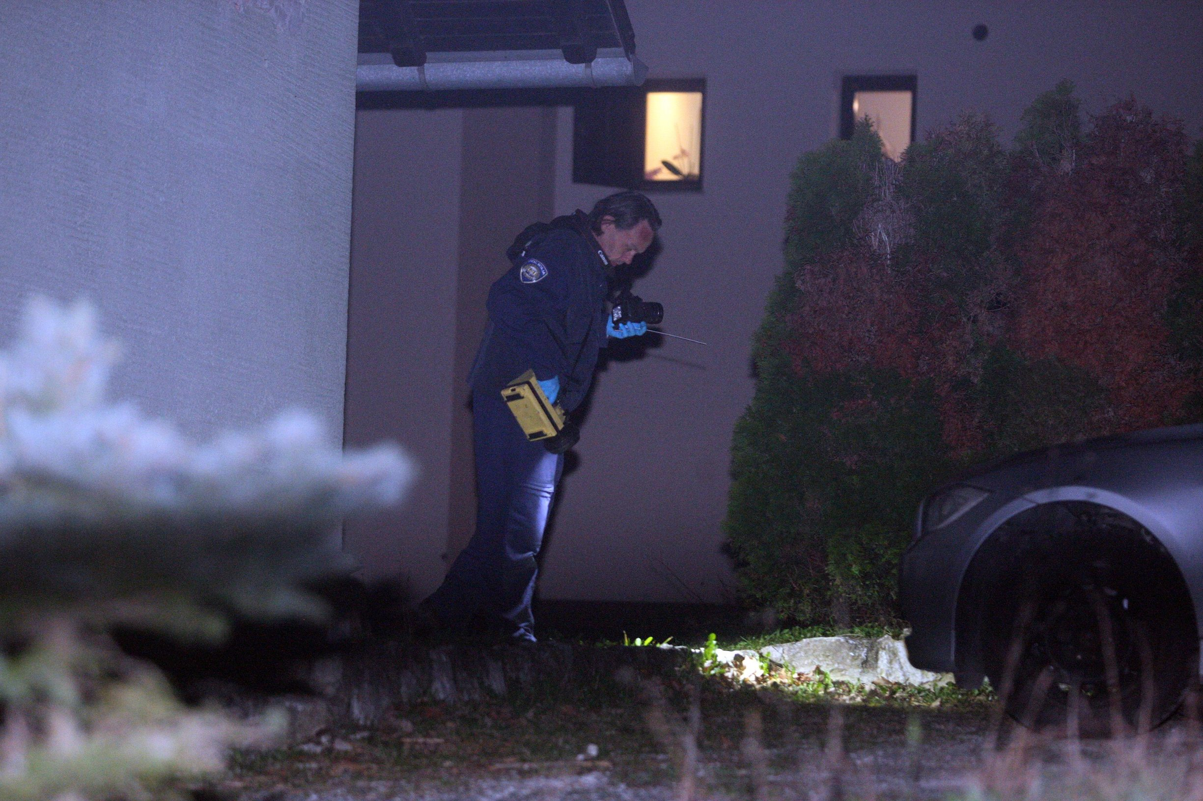 Varazdin, 160319. U mjestu Toplicica 56-godisnji muskarac pokusao je ubiti 53-godisnjaka i 30-godisnjeg muskarca. Foto: Zeljko Hajdinjak / CROPIX