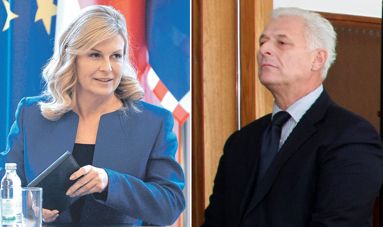 Kolinda Grabar-Kitarović, Danko Seiter