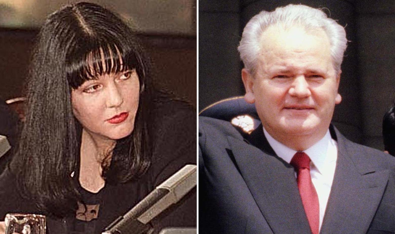 Marija Milošević i Slobodan Milošević, arhivske fotografije