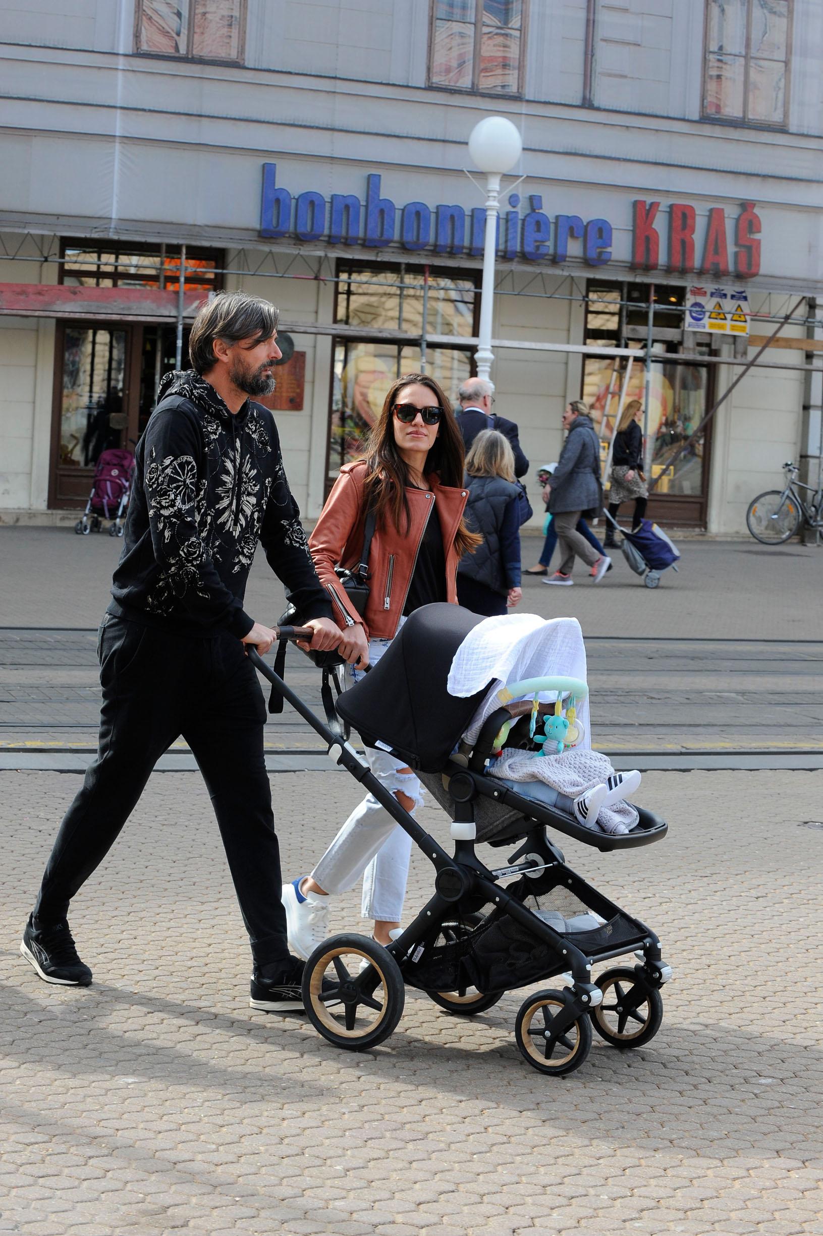 Spica / Zagreb 09.03.2019. / foto: Maja Jurovic / Goran Ivanisevic i supruga Nives Canovic Ivanisevic i sin Oliver