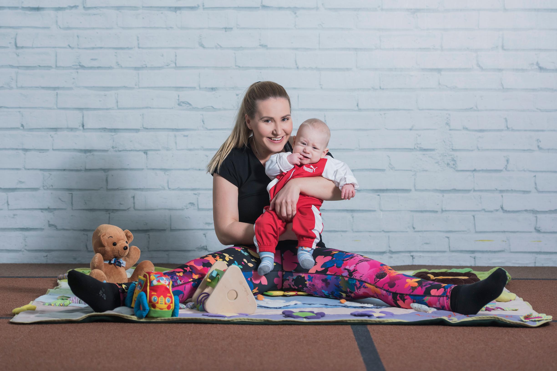 Mama Ivana i njezin Toma krenuli su na baby fitness i pokazali da je u dvoje ljepše vježbati