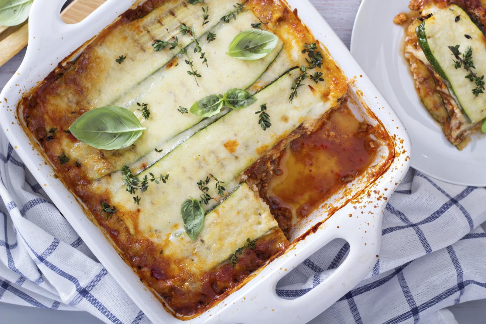 """Tikvice su zahvalna namirnica i odlična zamjena za tjesteninu i krumpir pa od njih možete radidi """"light"""" inačicu lazanja, musake i sličnih jela."""