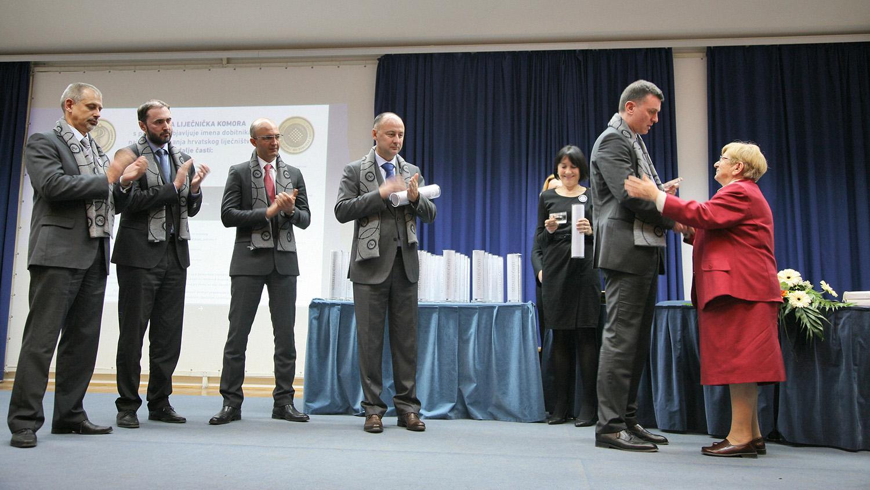 Medalju časti primila je i doktorica Vesna Bosanac.