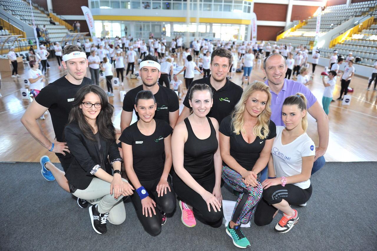 Uz Renatu i Ivana stoji cijeli tim - treneri, nutricionistica i Kineziološki fakultet.