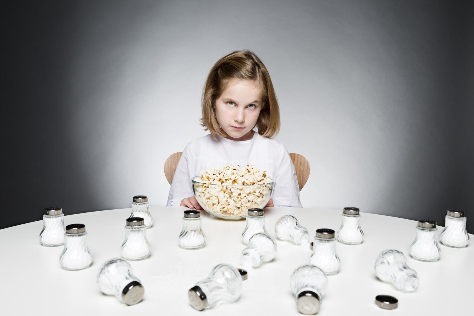 Pripazite koliko soli vaše dijete dnevno pojede.