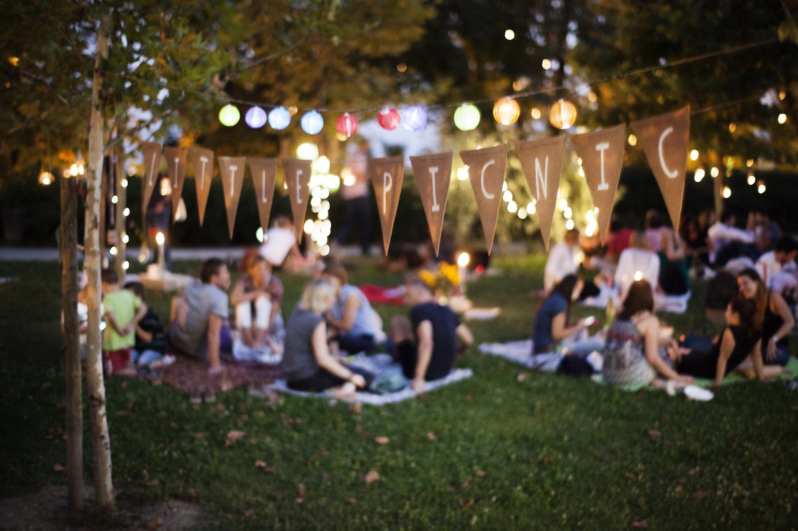 Travica, dekica, klopica - Mali piknik stvarno se potrudio srijedu pretvoriti u romantičan dan...
