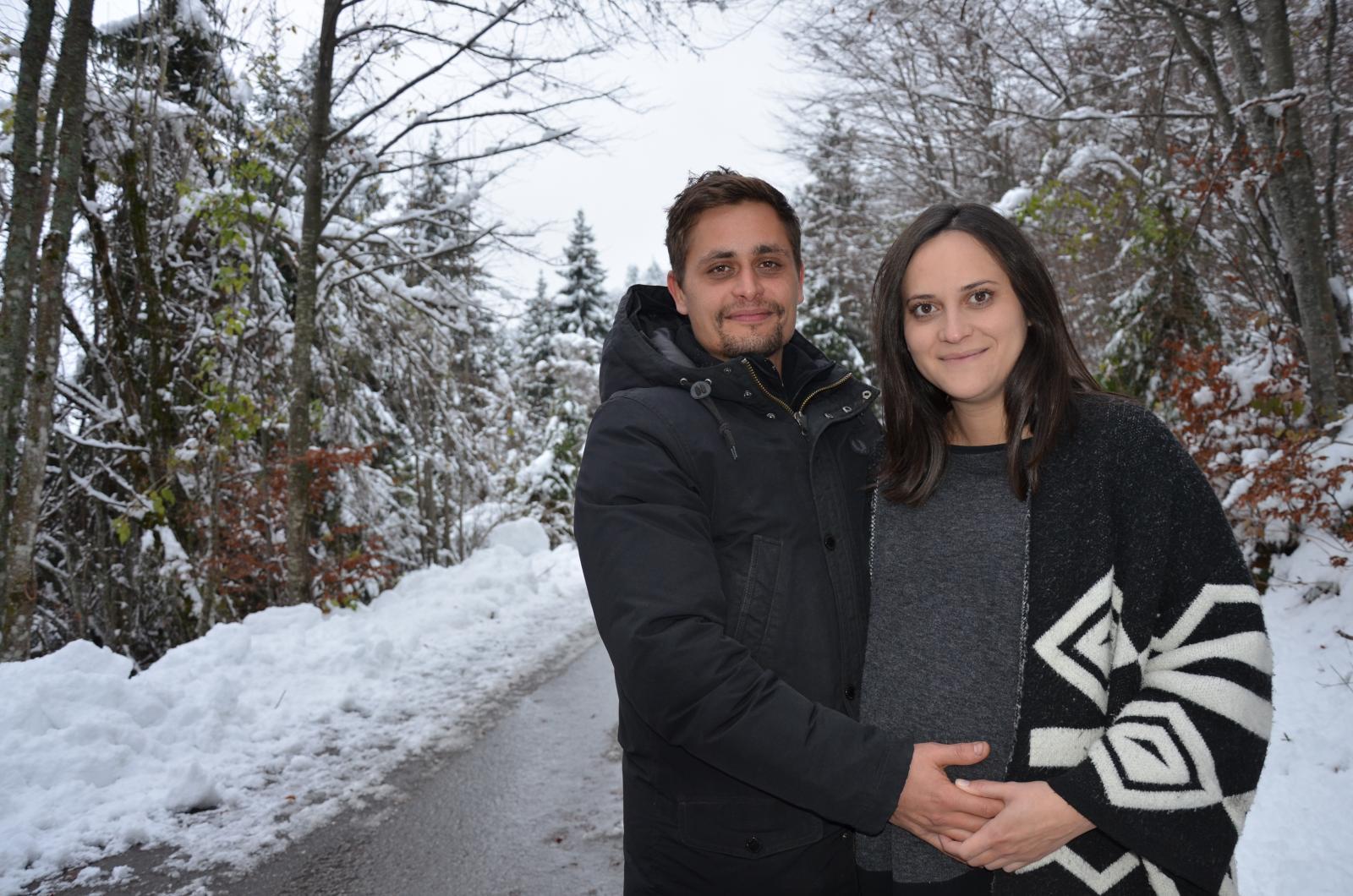 Luka i Sanja uskoro će postati roditelji i vjeruju kako će Kozji Vrh biti idealno mjesto odrastanja njihovog mališana.