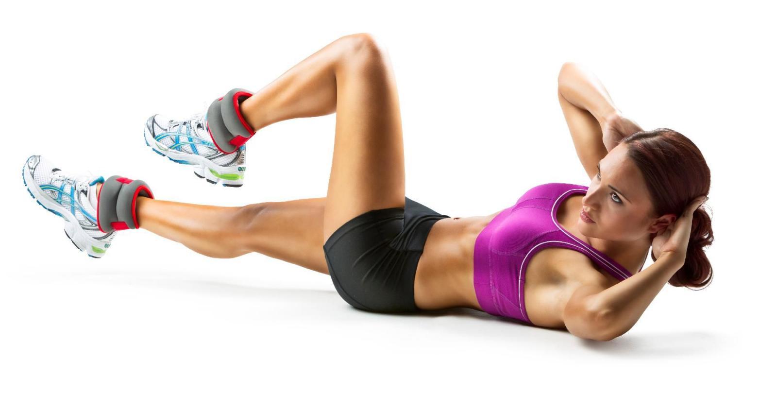 Cilj je utezima malo otežati vježbu i na taj način postići još bolje rezultate.