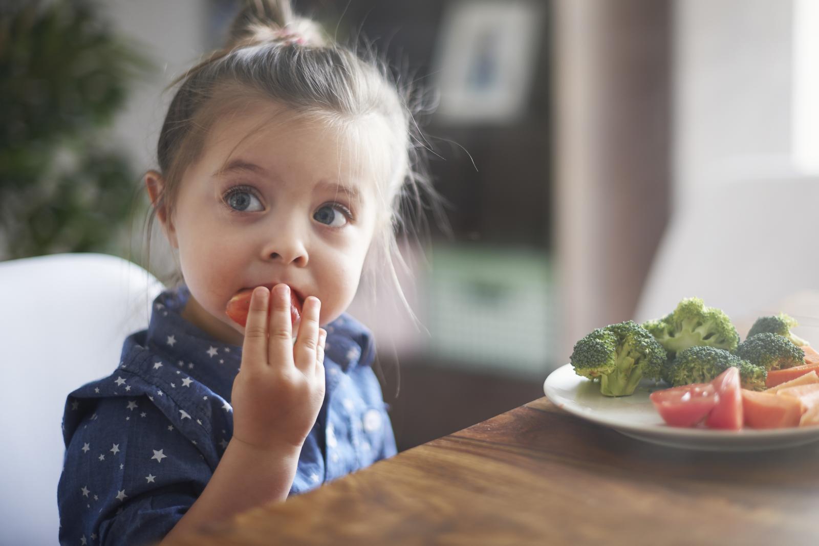 Djeca imaju manji želudac pa samim time mogu pojesti manje. Dobro je da ručak započnu juhom, a također je poželjno da imaju užine između dva glavna obroka.