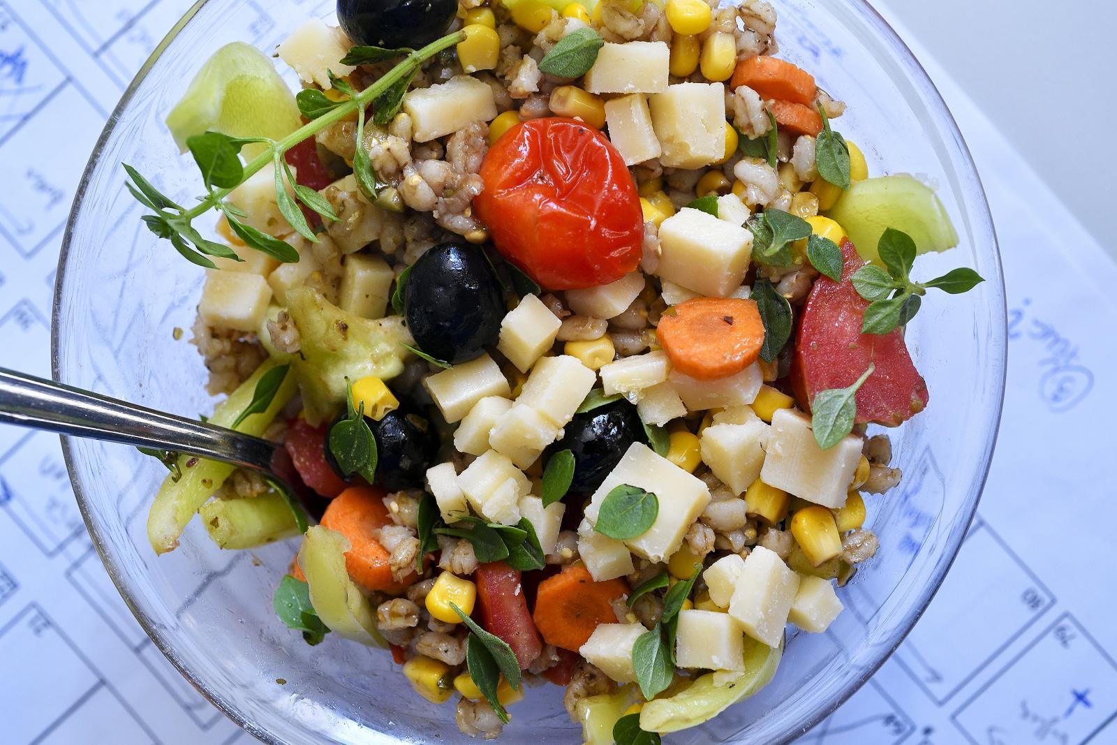 Za pripremu salate ne treba odvojiti puno vremena, a možete uživati u savršenom obroku.