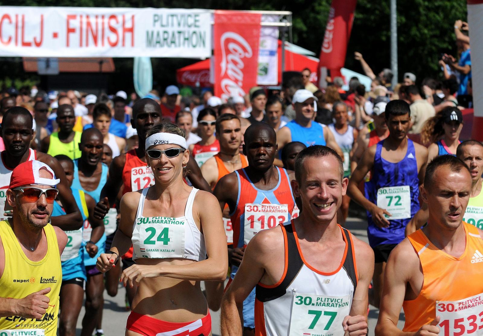Plitvički maraton doista je poseban, prvo zato što je atraktivan kao rijetko koji drugi, a drugo zato što je među starijim atletskim utrkama u zemlji.