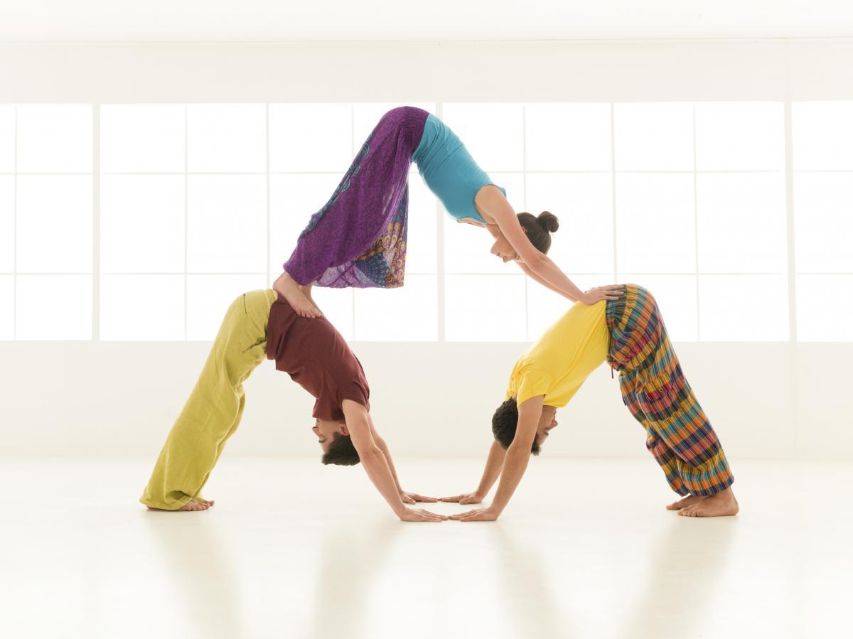 Ravnoteža tijela duha i duše - to je joga, rastezanje je samo jedna od značajki...