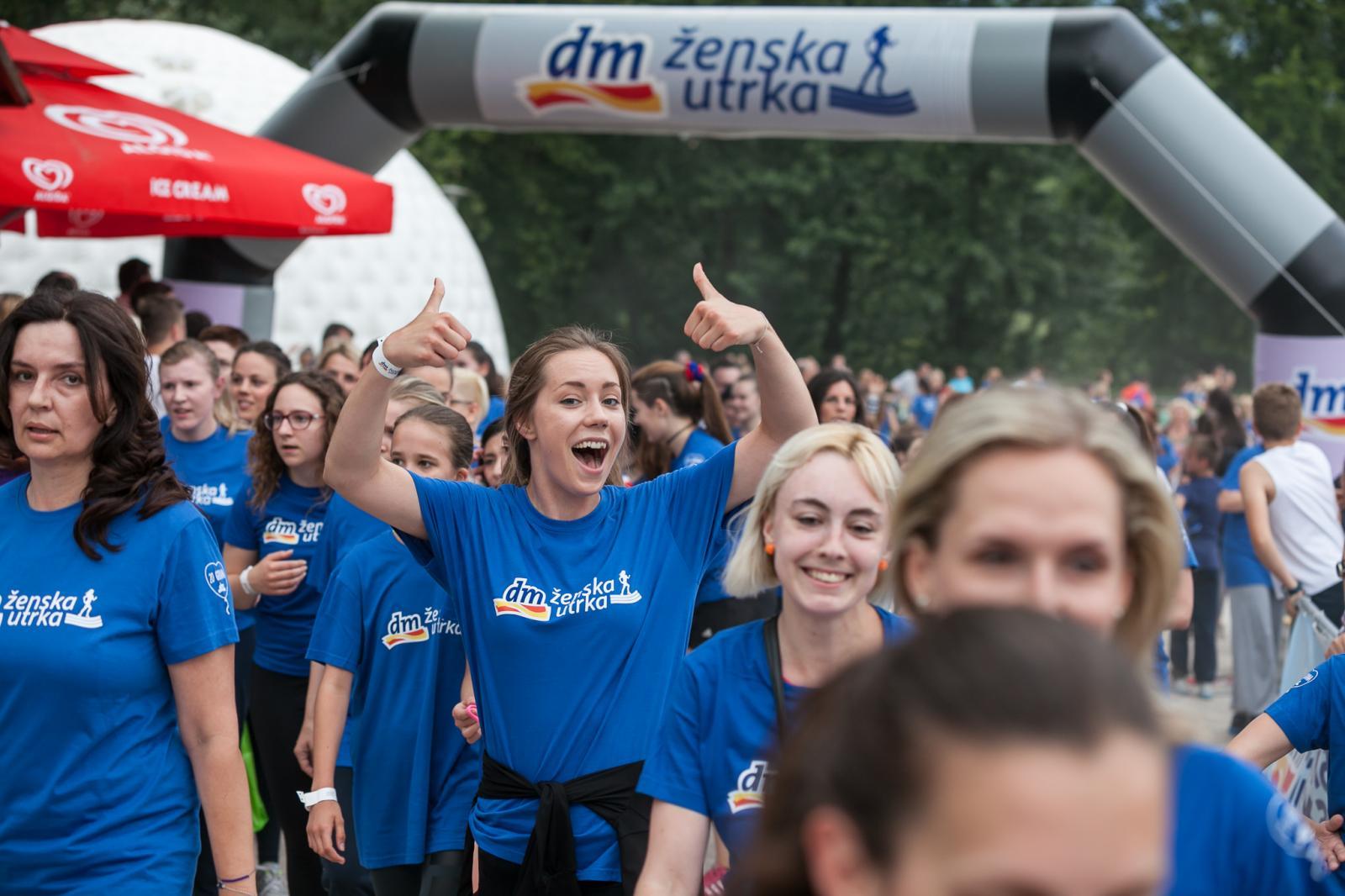 Na Bundeku se ove godine okupio rekordan broj sudionica u dm ženskoj utrci.