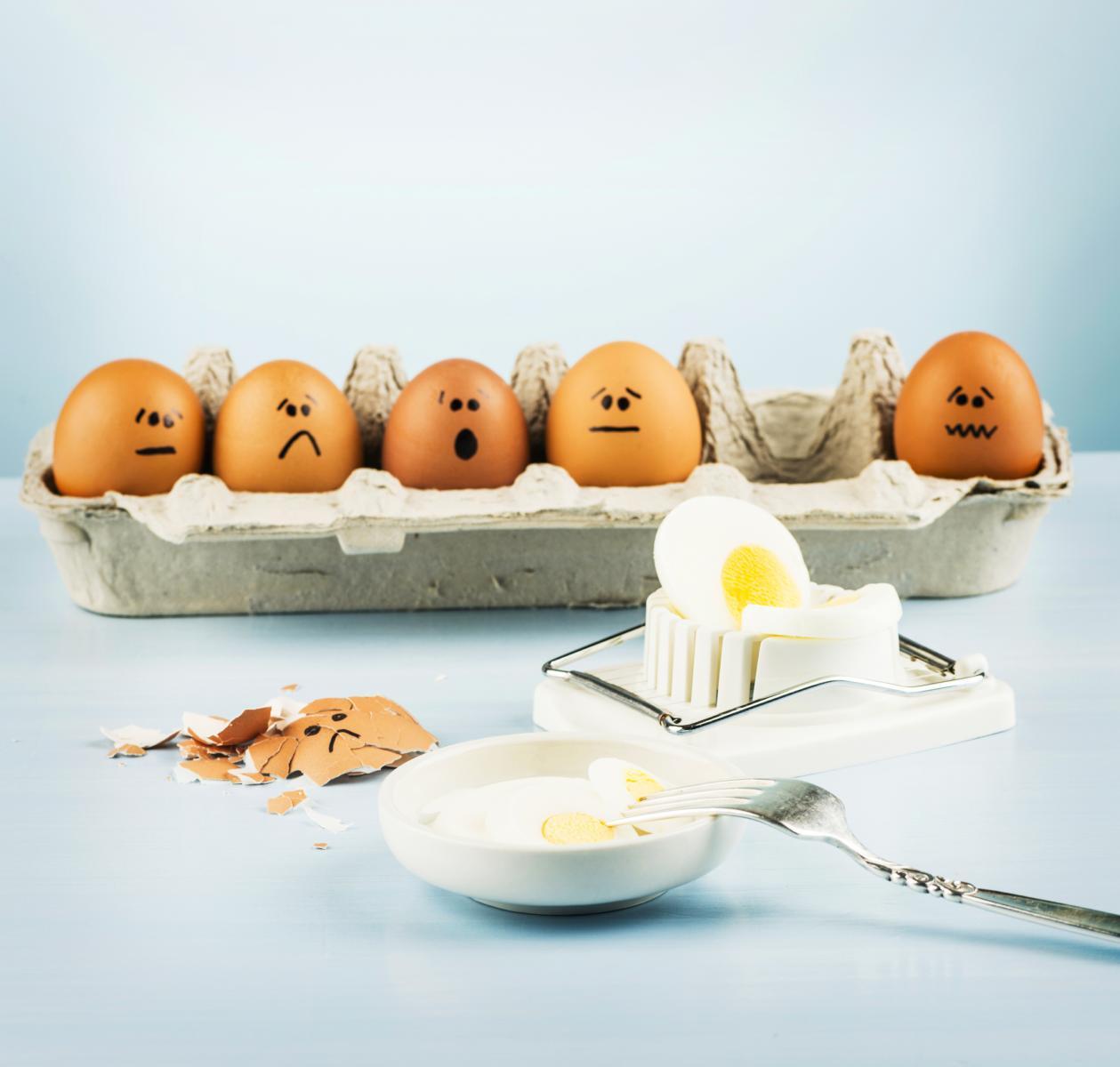 Ne brinite, čak i ako patite od povišenog kolesterola u krvi, kolesterol iz jaja neće vam naštetiti.