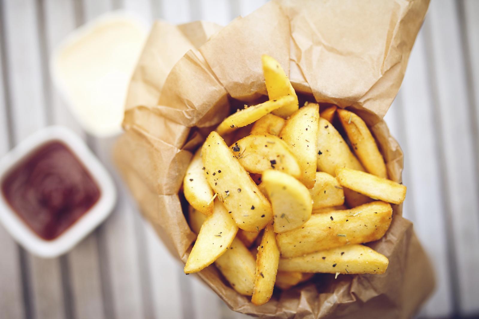 Jesti samo pržene krumpiriće po cijele dane baš i nije dobra ideja.